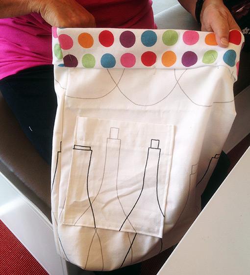 Väska i återvunnet material