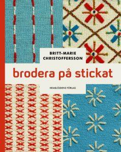 Omslag till boken Brodera på stickat