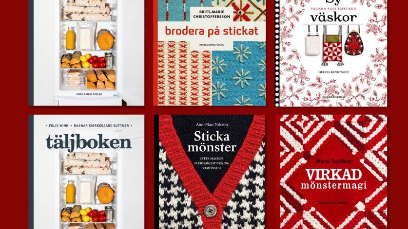 Böcker från Hemslöjdens bokförlag