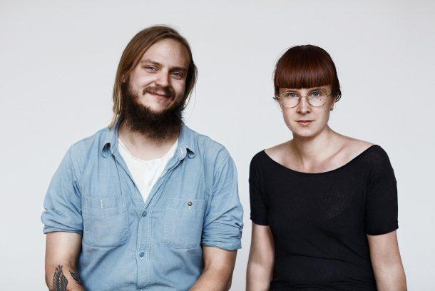 Bild på Douglas Luhanko och Kerstin Neumüller som tillsammans utgör Second Sunrise.