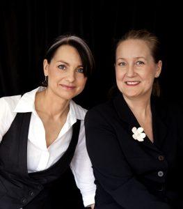 Katarina Breiditis och Katarina Evans