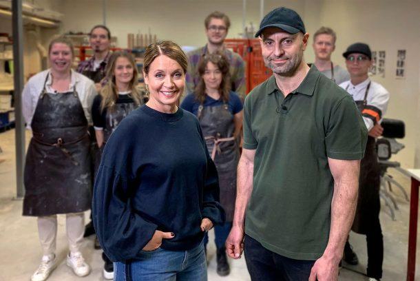 Deltagare och programledare i SVT:s Mästerskaparna