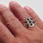 Samisk silverring för gifta kvinnor