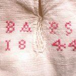 Skjorta med monogram från Delsbo