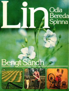 Bokomslag - Lin - odla, bereda, spinna